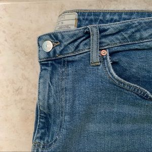 Free People fray jeans